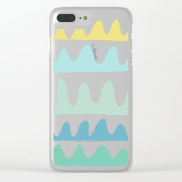 sea fans Clear iPhone Case