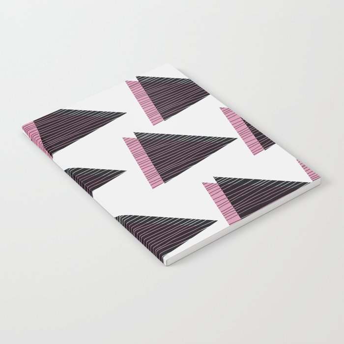 Pink Triangles III Notebook