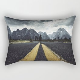 grand teton national park road Rectangular Pillow