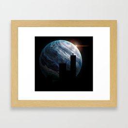 King of Buildings by GEN Z Framed Art Print