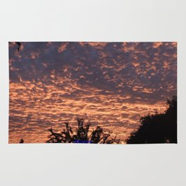 Atmospherics Number 2: Sunset from Costco San Dimas Rug