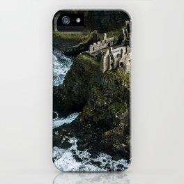 Castle ruin by the irish sea - Landscape Photography iPhone Case