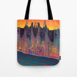 At The Energy River Tote Bag