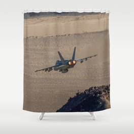 Hornet Low Level Shower Curtain