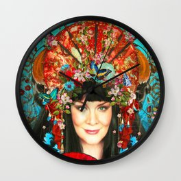 l'artiste exotique Wall Clock
