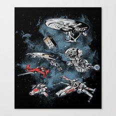 Ultimate Space Fleet Canvas Print