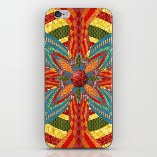 Thistle Pattern iPhone & iPod Skin