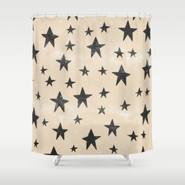 we are all made of stars Shower Curtain