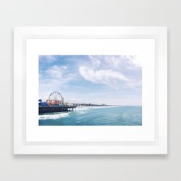 Cali Summer Vibe Framed Art Print