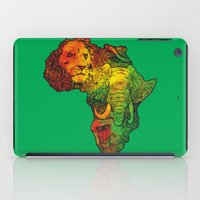 africa iPad Cases featuring Africa by RicoMambo