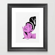 Glamour1 Framed Art Print