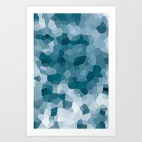 gem Art Prints featuring gem by annmariep