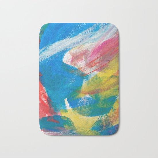 Abstract Artwork Colourful #4 Bath Mat