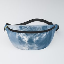 Winter Snow Wolf Animal Mystical Fanny Pack