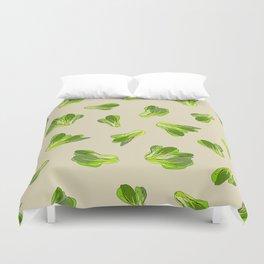 Bok Choy Vegetable Duvet Cover