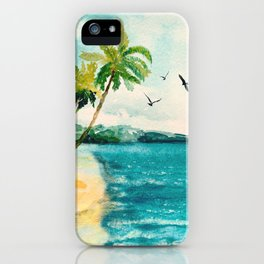 Palm Trees 1 iPhone Case