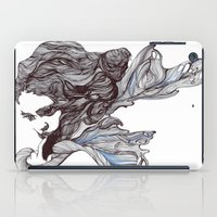 wings iPad Cases featuring Wings by Ilariabp.art