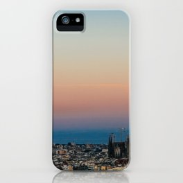 Barcelona Moonlight iPhone Case