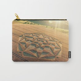 Crop Circle 2016 - Cherhill, Calstone, Wiltshire Carry-All Pouch