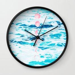 Beach Baby, Moon Baby Wall Clock