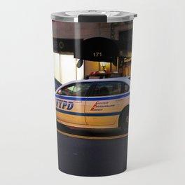 NYPD Squad Car Travel Mug