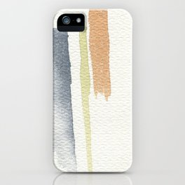 tri-color iPhone Case