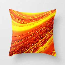 square field on Throw Pillow