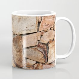Rough Stone Wall Coffee Mug