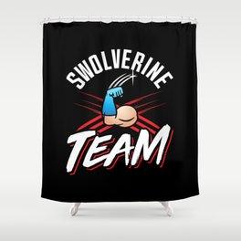 Swolverine Team Shower Curtain