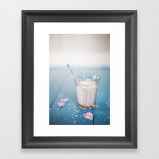 Milk. Framed Art Print