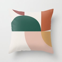 Abstract Geometric 12 Throw Pillow
