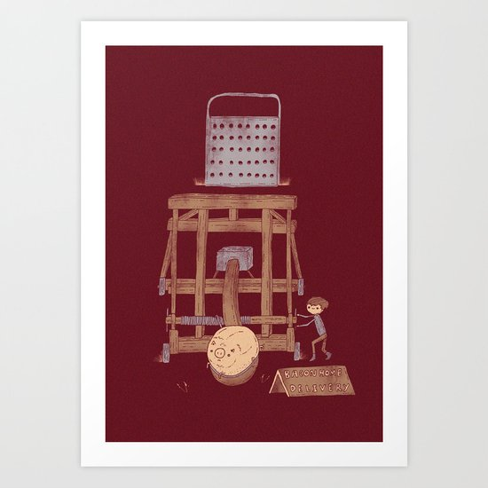 Bacon Maker Art Print