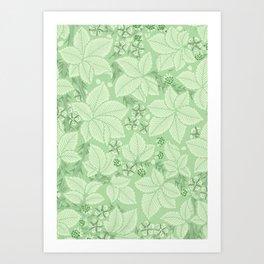"William Morris ""Bramble"" 3. Art Print"