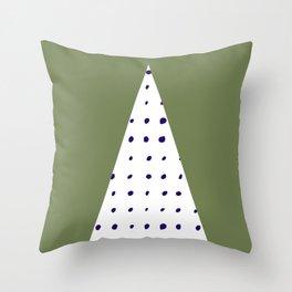 Scandinavian style minimalist triangle design Throw Pillow