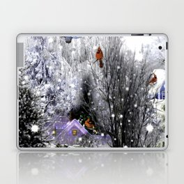 The Birds Of Winter Laptop & iPad Skin