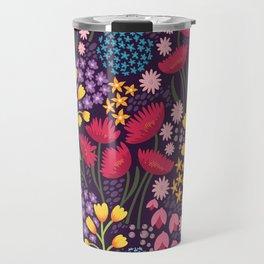 Spring blooms - dusk Travel Mug