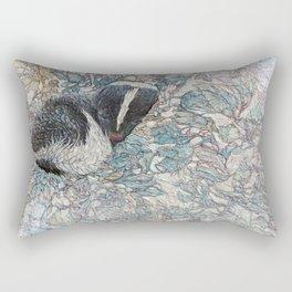 Winter Flower Rectangular Pillow