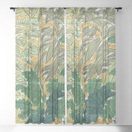 Jungle Sheer Curtain