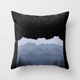 Winter Motif Throw Pillow