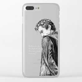 How Many Seconds in Eternity? Clear iPhone Case