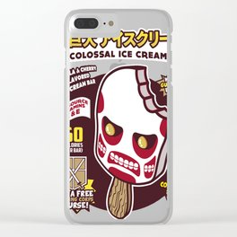 Colossal Ice Cream Clear iPhone Case