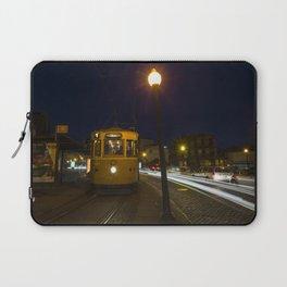 Porto Night Tram Laptop Sleeve