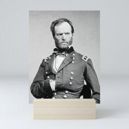 General Sherman - Hand In Coat Portrait Mini Art Print