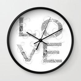 Tangled Love Wall Clock