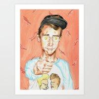 Get Fried Art Print