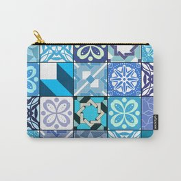 Ceramic Tiles - Oriental Blue Carry-All Pouch