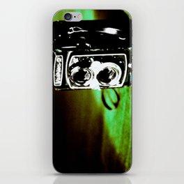 Green Yashica-D iPhone Skin