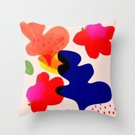 Beauty before me Throw Pillow