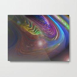 """""""Cosmic Torso"""" Metal Print"""