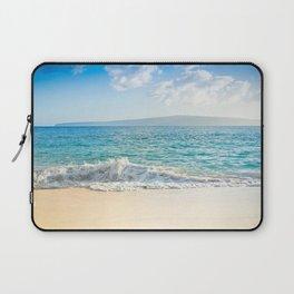 Oneloa Big Beach Makena Maui Hawaii Laptop Sleeve